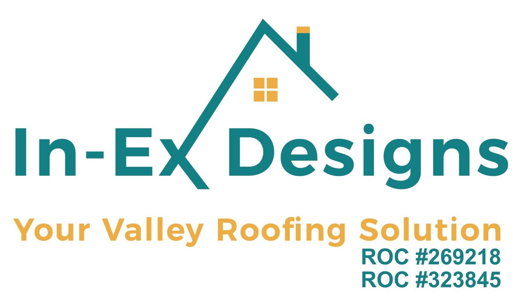 In-Ex-Designs Roofing Logo